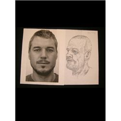Grey's Anatomy Headshot & Sketch