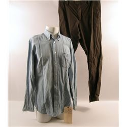 Transcendence Joseph Tagger (Morgan Freeman) Movie Costumes