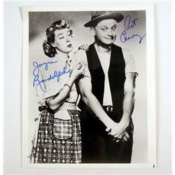 The Honeymooners (1955) Signed Photo of Art Carney & Joyce Randolph