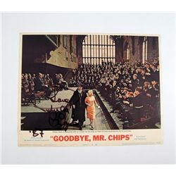 Goodbye, Mr. Chips (1969) Original Lobby Card Signed By Peter O'Toole & Petula Clark