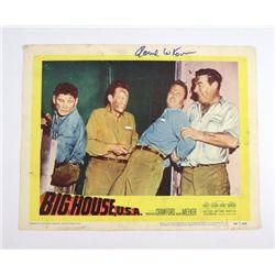 Big House U.S.A. Lobby Card Signed By Howard W Koch