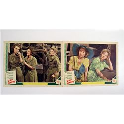 Cry Havoc Original Lobby Cards Signed By Ann Sothern
