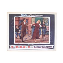 The West Point Story Original Lobby Card Signed By Cast & Composers Including James Cagney/Virginia