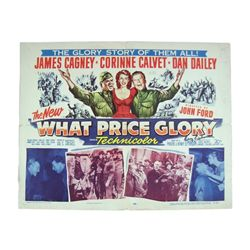 What Price Glory Henry Ephron Autographed Poster