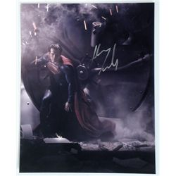 Man Of Steel Superman (Henry Cavill) Autograph Photo