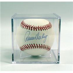 Ron Darling Autographed Baseball