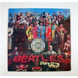 Beatles Rare Russian LP Of Sgt. Pepper