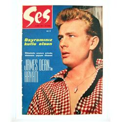 James Dean Ses 1965 Turkish Magazine