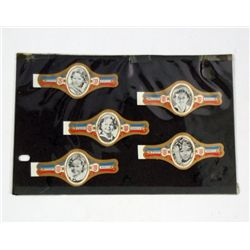 Shirley Temple German Cigar Band Promotionals