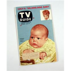 TV Guide Lucy's Baby First Issue