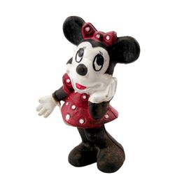 Minnie Mouse Pie-Eyed Cast Iron Coin Bank