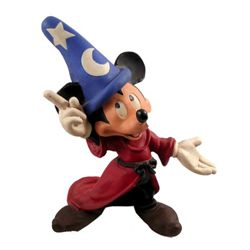 Mickey Mouse Life Size Plaster Fantasia Sorcerer's Apprentice Statue
