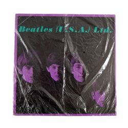 Beatles Original Program US 1964 Concert Tour