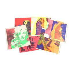 Marilyn Monroe Bert Stern Last Sitting Black Light Serigraphs
