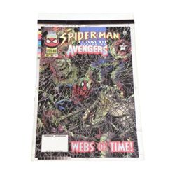 Spider-Man-Avengers Webs Of Time Comic Book Cover 4-Color Proofs