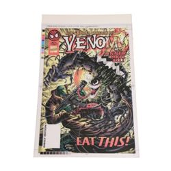 Venom Sinner Comic Book Cover 4-Color Proofs