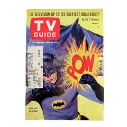 TV Guide Batman April 1966