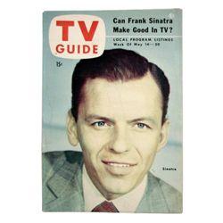 TV Guide Frank Sinatra May 1954