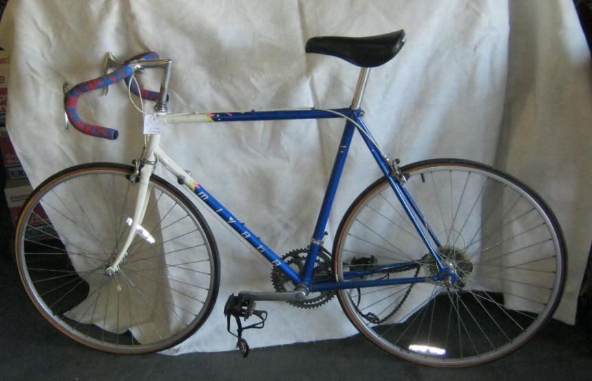 Men's Miyata Blue/White Racing Bike  Police Seized