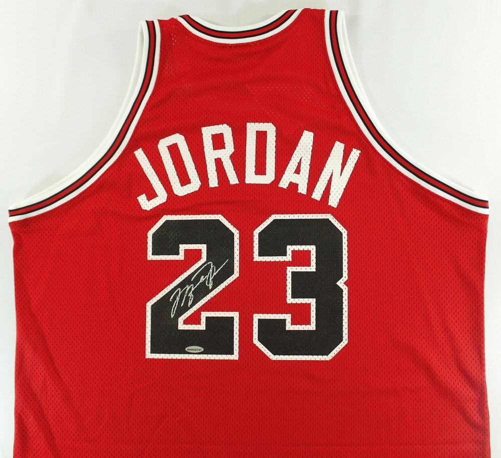 82ebc481258b1c Image 1   Michael Jordan Signed Bulls Authentic Mitchell   Ness 1988-89  Jersey ...