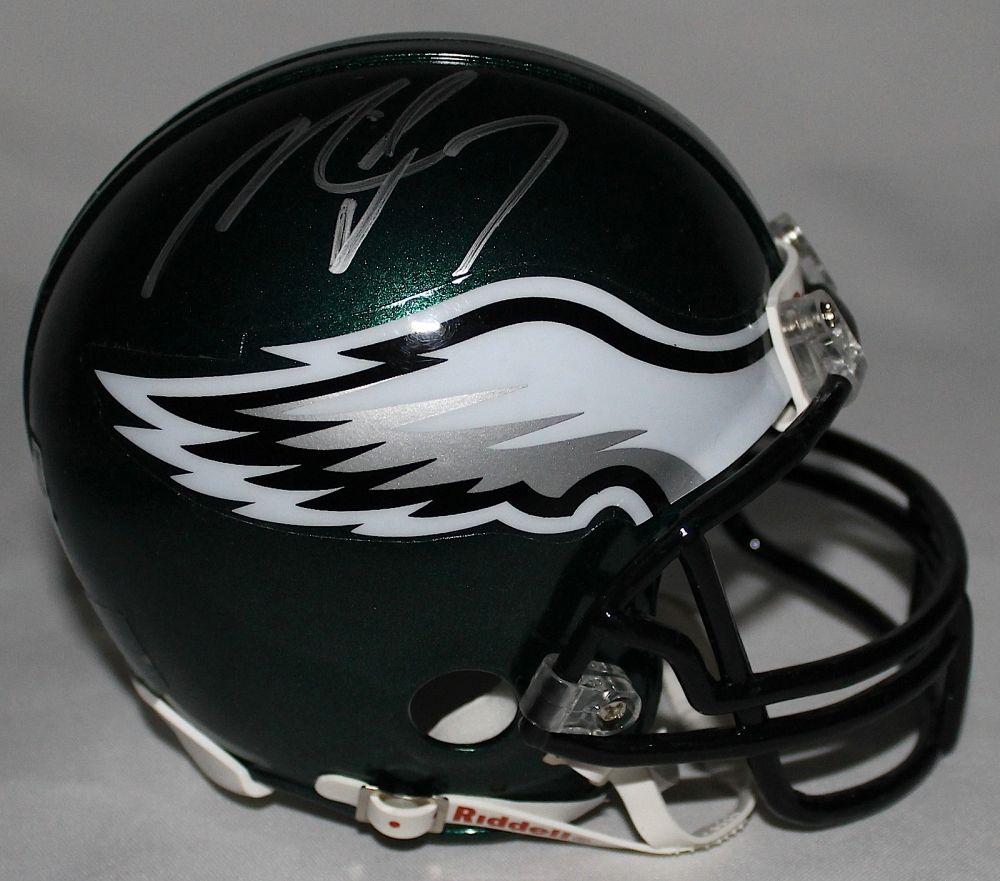1d4857af968 Image 1   Michael Vick Signed Eagles Mini-Helmet (Vick Hologram) ...