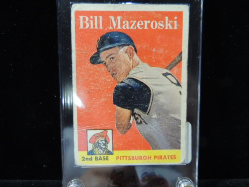 1958 Topps Bill Mazeroski 238 Baseball Card