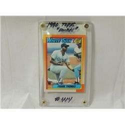 1990 Topps Frank Thomas 414 Rookie Card