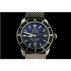 WATCH:  [1]  Stainless steel gents Breitling Aeromarine Superocean Heritage 46 Chronometer Automatic