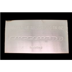 BULLION: [1] Engelhard .999 100 Troy oz silver bar.