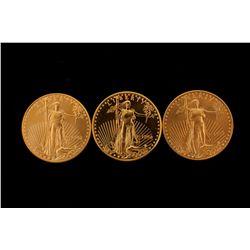 COINS: [1] $50 American Eagle gold coins, 1 oz, 1997.COINS: [1] $50 American Eagle gold coins, 1 oz,