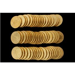 COINS: [60] $50 American Eagle gold coins, 1 oz, 2000.