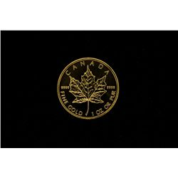 COIN: [1] 2011 Canadian Maple Leaf $50 1 oz gold coin uncirculated 30g.