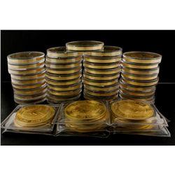 COINS: [49] Australian Kangaroo, 2 oz. .9999 gold coins, $200 Proof, 2000