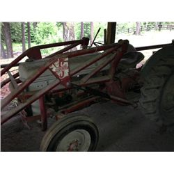 Ford 8N Tractor With Superior Loader