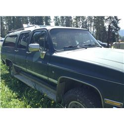 1987 Chevy Suburban 4x4