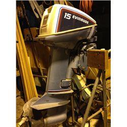 Evinrude 15HP boat motor