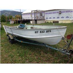 14' StarCraft Seafarer Aluminum Fishing Boat
