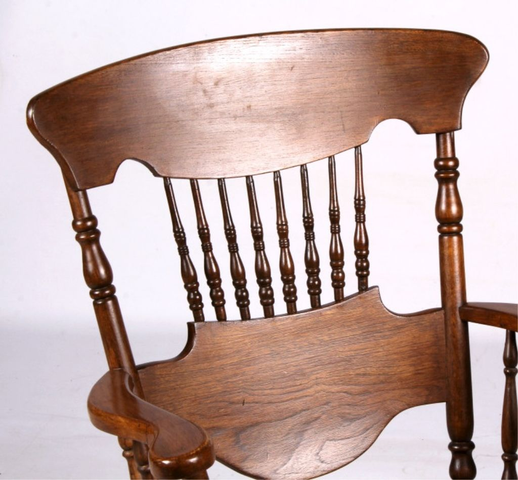 Awe Inspiring Antique Solid Wood Rocking Chair This Lot Features Beatyapartments Chair Design Images Beatyapartmentscom
