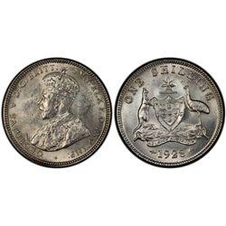 Australia Shilling 1928 PCGS MS 61
