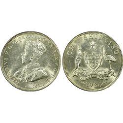 Australia Shilling 1936 PCGS MS 62