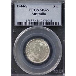 Australia Shilling 1944 s PCGS MS 65