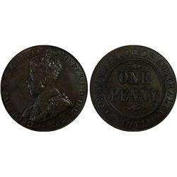 Australia Penny 1911 PCGS MS 63