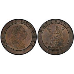 GB 2d 1797 PCGS AU 55