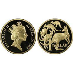 Australia 1989 $1 PCGSD PR 69