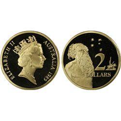 Australia 1989 $2 PCGS PR 69
