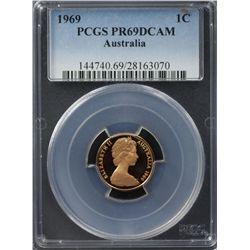 1969 1 c PCGS PR 69