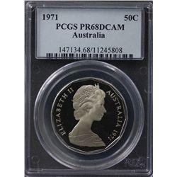 1971 10c PCGS PR67DCAM
