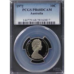 1972 2c PCGS PR68DCAM