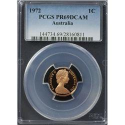 1972 20c PCGS PR68DCAM