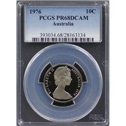 1976 10c PCGS PR68DCAM